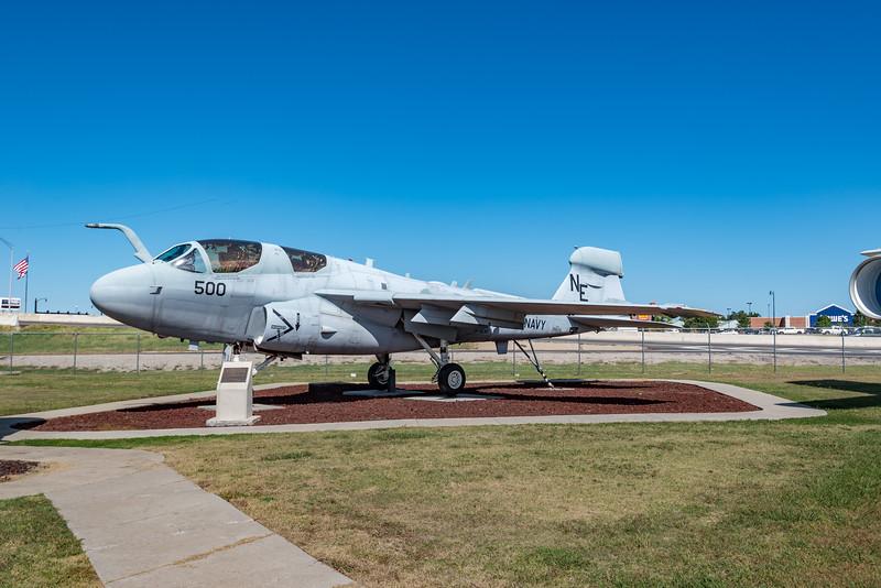Grumman EA-6B Prowler ELectronic Warfare Support Aircraft