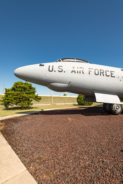 RB-47 Tinker AFB, first all-jet bomber
