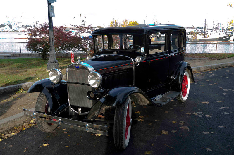 Ken is considering buying this 36' Ford to replace his 50 Chevy.