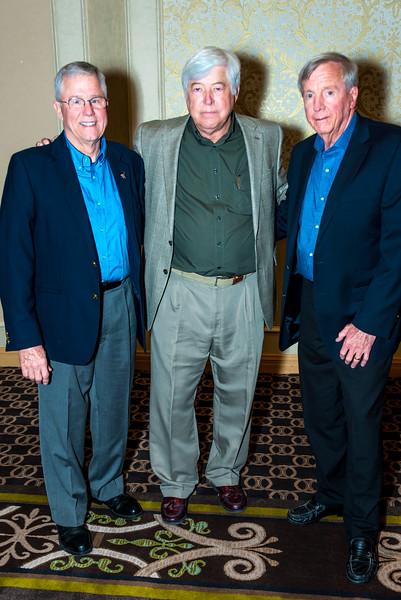 Steve Morehouse, Tom Clark, Carrol Johnson