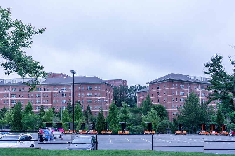 New Dorms - The Campus Has Doubled in SIze