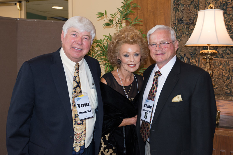 Old ROTC, Pilot Training and Nam Buds,  Tom with Carole and Clyde Clem.  Can you believe married 50 years!