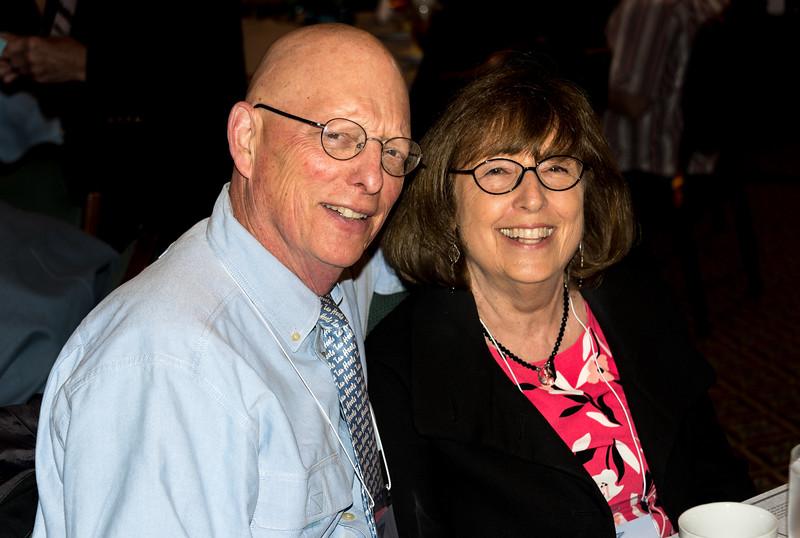 Jock and Lynne Vernon Lauterer, both class of '67
