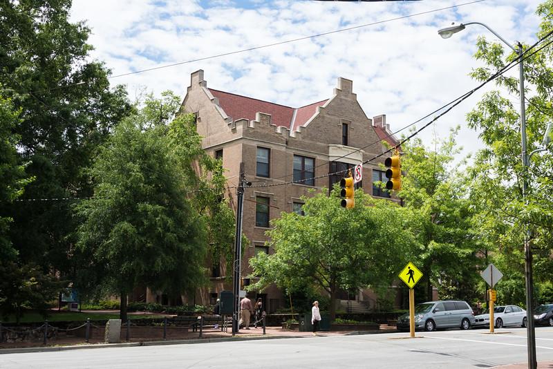 Battle Vance Pettigrew Dorm on Franklin St.  My Sophomore Year Address  -  Won Battle