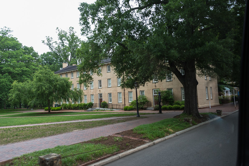 Old East, the First UNC Building, 1793