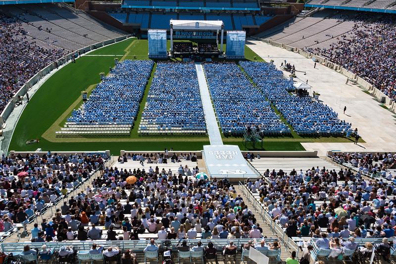 Graduation Underway  (jt)