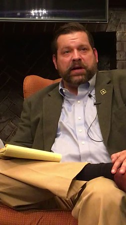 Tom Garrett, Sword of Damocles, holding other events for constituents