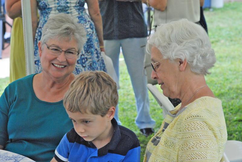 Barbara, William & Kathy