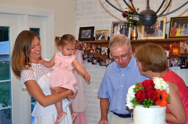 Anne, Sybilla, Tom & Kathie