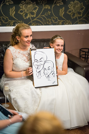 Evening and Caricatures