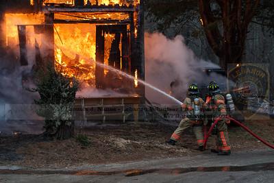 Barn fire - Lebanon, CT 1/15/2021