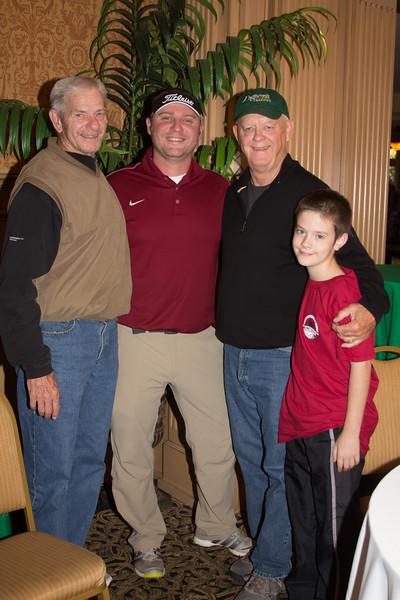 Norm DeBriyn, Clint Brannon, Jim Hawkins, Robert Hawkins (2)