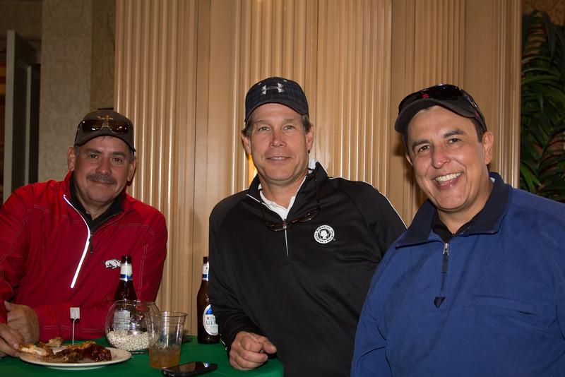Steve Valdez, Paul Turchi, Hector Cueva