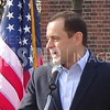 Tom Perriello At Healthcare Rally At Bell Tower On Capitol Square In Richmond, VA