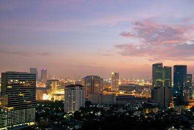Bangkok taken with wide-angle lens (24mm)