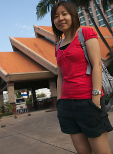 In front go Pullman Hotel, khon Kaen