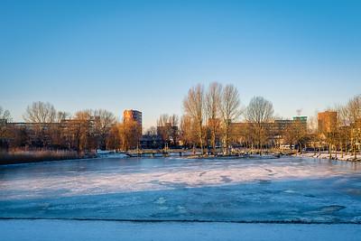 Frozen Hofvijfer