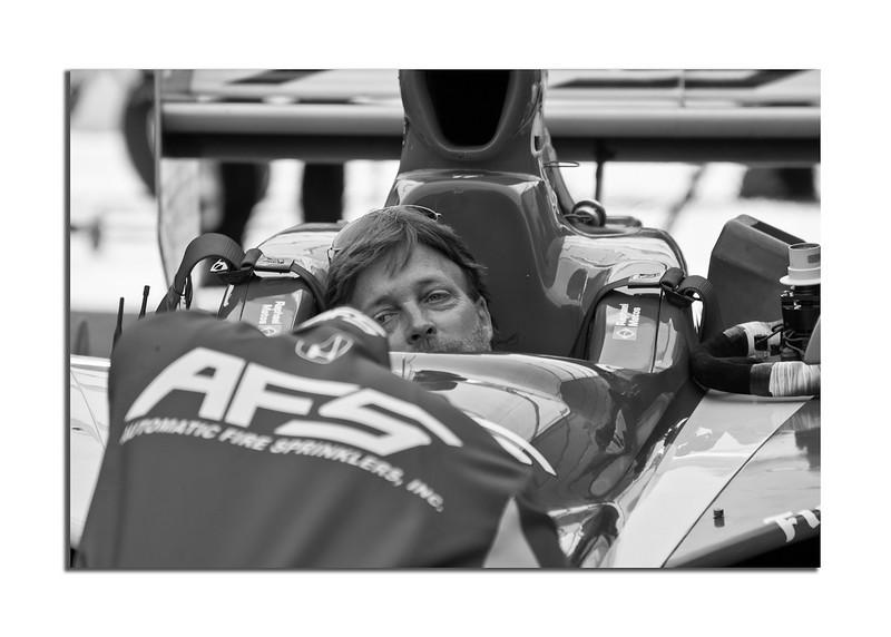 Long Beach Grand Prix Indy Car in Pit.