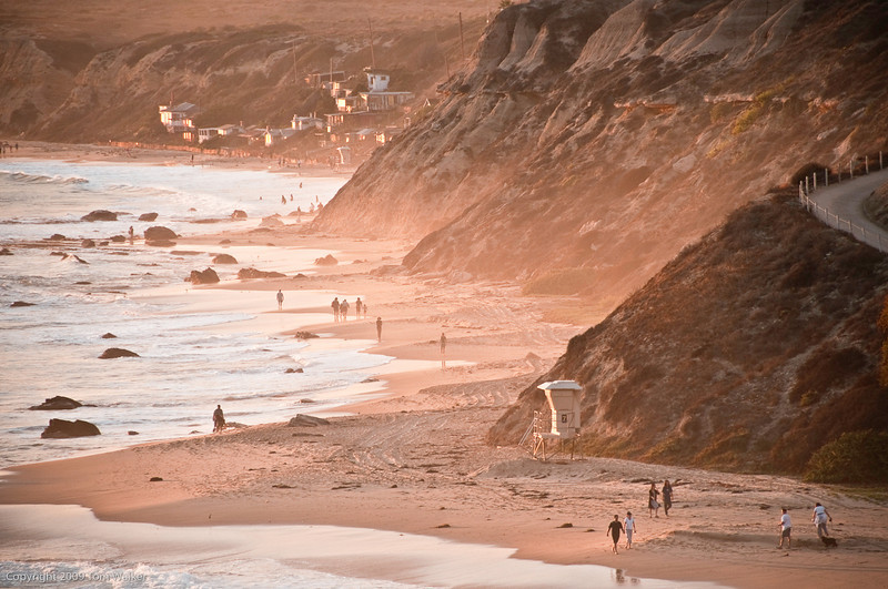 Summer Afternoon - Crystal Cove Beach, Summer 2009