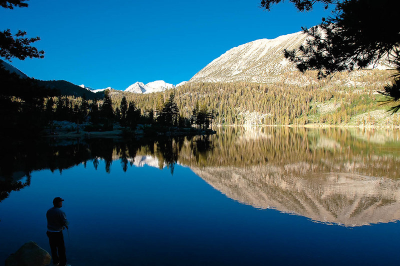 """""""Perfection""""  Taken at Rock Creek lake in the Sierra Nevada's near the Mammoth."""