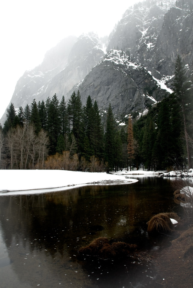 Merced River in Yosemite Valley 2007