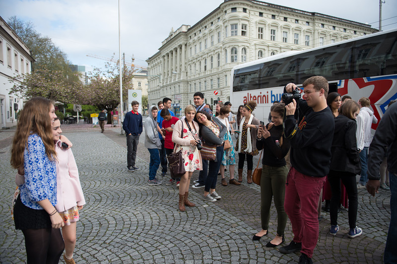 On the Sound of Music City Tour in Salzberg