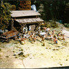 French & Indian War.<br /> <br /> Trading post under attack.