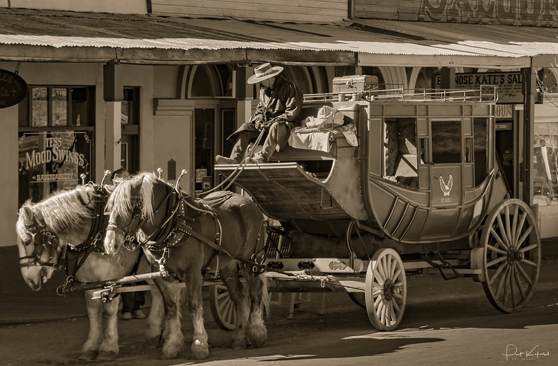 Stagecoach to Tuscon