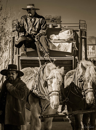 Stage  Coach at the O. K. Corral