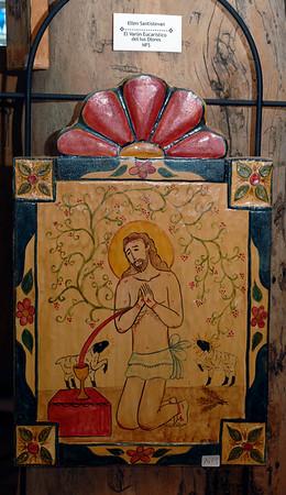 D2X_36340 artist Ellen Santistevan  title- El Varon Eucaristico de los Dolores