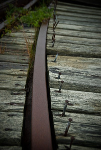 Weathered Rails | 2009  Lubec, ME