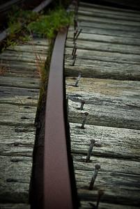 Weathered Rails | 2009  Lubec, ME