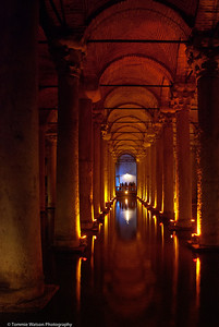 Guiding Light  |  2011  Basilica Cistern  |  Istanbul, Turkey