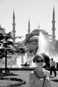 Mosque Courtyard  |  2011  Blue Mosque  |  Istanbul, Turkey