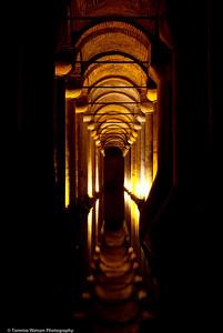 Tunnel Vision  |  2011  Basilica Cistern  |  Istanbul, Turkey