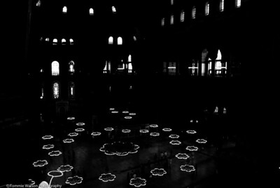 Glowing Lanterns  |  2011  Hagia Sophia  |  Istanbul, Turkey
