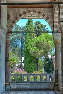 Framed Garden   |  2011  Topkapi Palace  |  Istanbul, Turkey