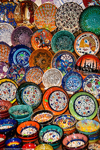 Bowls at the Bazaar  |  2011  Grand Bazaar  |  Istanbul, Turkey