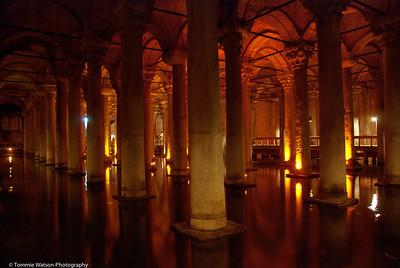 Subterranean Glow  |  2011  Basilica Cistern  |  Istanbul, Turkey