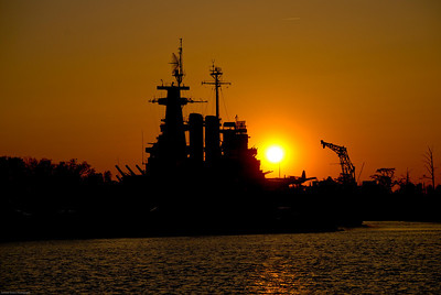 Sunset Battleship  |  2008  Wilmington, NC
