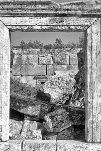 Frame Decay  |  2011  Hierapolis ruins  | Pamukkale, Turkey
