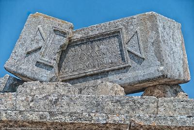 Resting Place  |  2011  Hierapolis ruins  | Pamukkale, Turkey