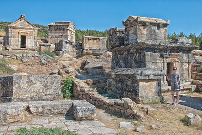 Tombs on Hill  |  2011  Hierapolis ruins  |  Pamukkale, Turkey