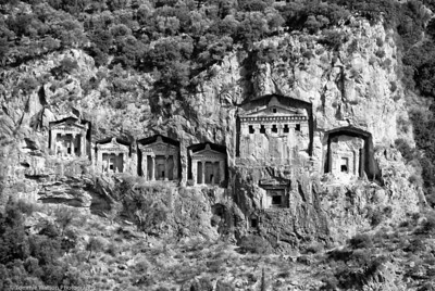Lycian Tombs  |  2011  Dalyan, Turkey