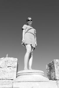 Modern Statue  |  2011  Hierapolis ruins  | Pamukkale, Turkey