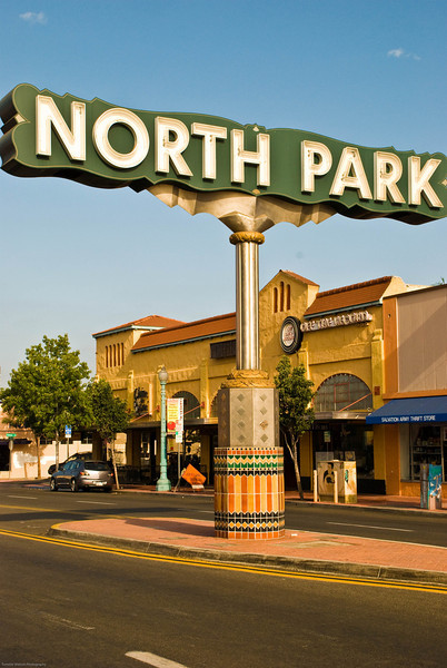 North Park Sign  |  2011  North Park  |  San Diego, CA