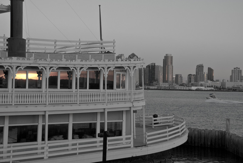 """""""Riverboat View""""  San Diego, CA  2008"""