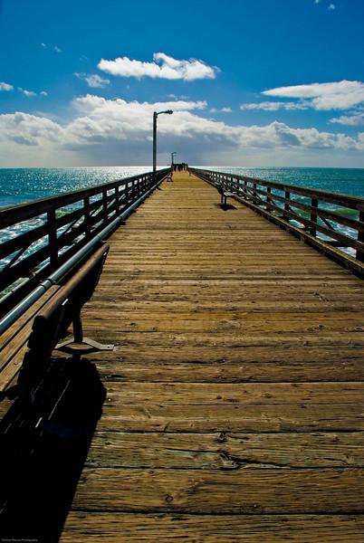 """""""Cayucos Pier""""  Cayucos, CA  2009"""