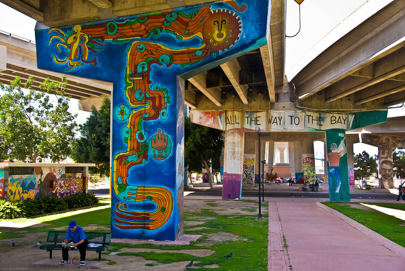 All the Way to the Bay  |  2008  Chicano Park  |  San Diego, CA