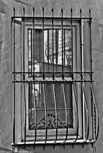 Wrought Iron Window  |  2011  Ortaköy, Istanbul, Turkey